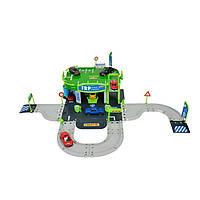 Игровой набор Заправочная станция - парковка c одной машинкой Majorette  (205 0010)