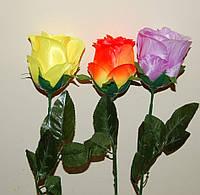 М - 151 Роза крупная атлас одиночная, фото 1