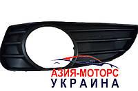 Решетка противотуманной фары левая Geely МК 2 (Джили MK 2) 1018006113, фото 1