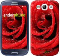 "Чехол на Samsung Galaxy S3 i9300 Красная роза ""529c-11"""