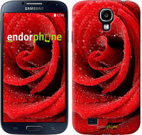 "Чехол на Samsung Galaxy S4 i9500 Красная роза ""529c-13"""
