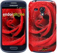 "Чехол на Samsung Galaxy S3 mini Красная роза ""529c-31"""