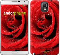 "Чехол на Samsung Galaxy Note 3 N9000 Красная роза ""529c-29"""