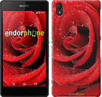 "Чехол на Sony Xperia Z2 D6502/D6503 Красная роза ""529c-43"""