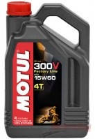 МАСЛО MOTUL 4T 300V FACTORY LINE OFF ROAD 15W60 (4L)