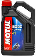Масло MOTUL 5000 4T SAE 10W40 (4L)
