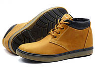 Ботинки зимние H.Denim мужские песочные, кожаные, р. 40 41