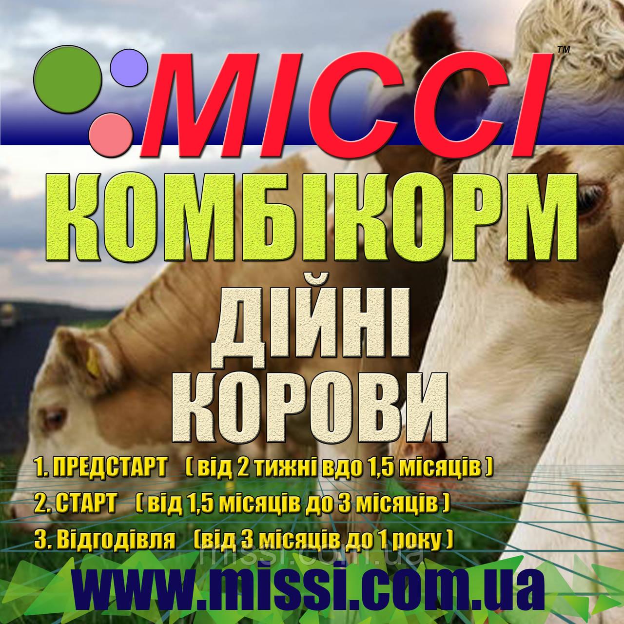 Комбікорм Дійні корови МІссі