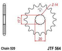 JT JTF564.14