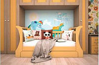 Деревянная кровать Детская Нью   ТИС
