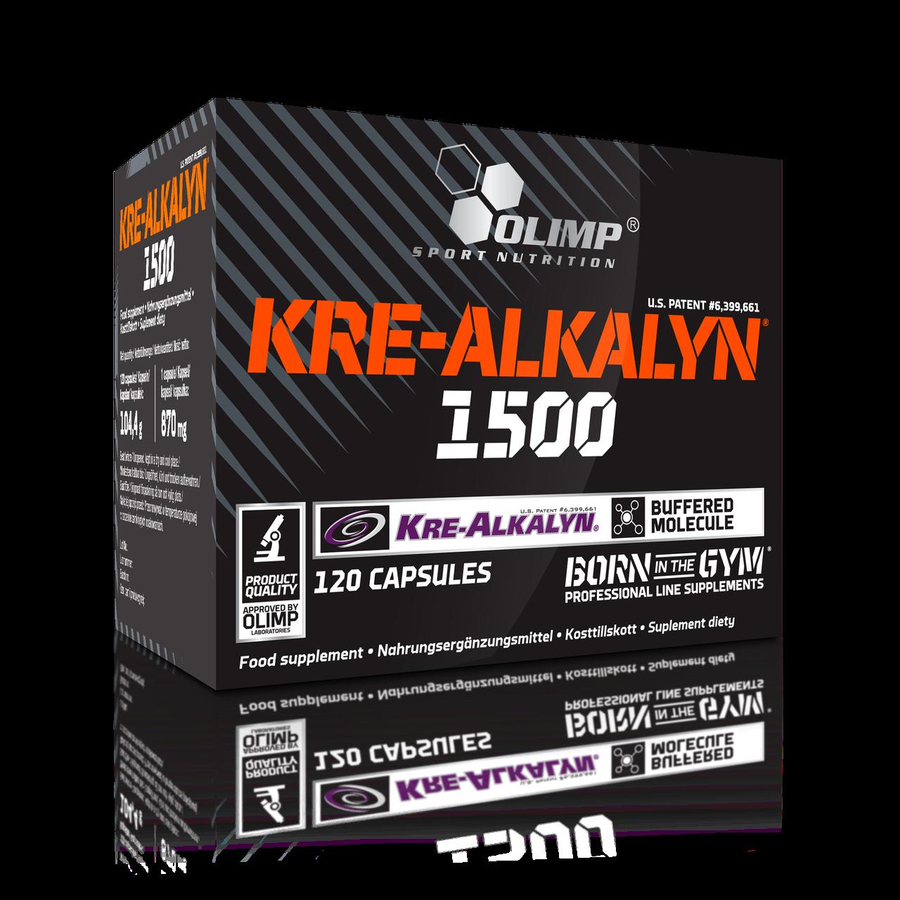 OLIMP Kre-Alkalyn 1500, 120 caps