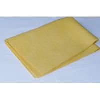 Салфетка ПВА для сушки автомобиля (искусственная замша)желтая,серая  44*54см