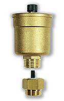Автоматический поплавковый воздухоотводчик серии MINIVENT с отсекающим клапаном RIA