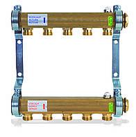 Коллектор HKV A из латуни для радиаторной системы(3 выхода), фото 1