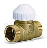 Двухходовой латунный зональный клапан 2131 для фанкойлов