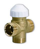 Трехходовой латунный зональный клапан 3131 для фанкойлов