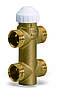 Треххходовой латунный зональный клапан 4131 для фанкойлов