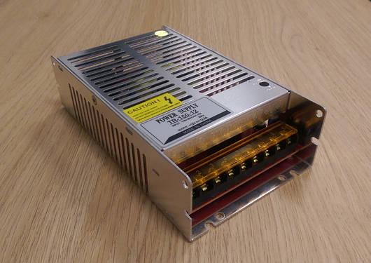 Блок питания перфорированный 12V 12.5А 150W для led ленты