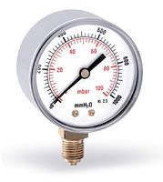 Манометр радиальный на газ F+R260 (MRSC)
