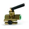 Запорный кран для манометра с фланцем RM15P-MM