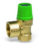 """Предохранительный мембранный клапан SVE-SOL для гелиосистем 1/2""""*3/4"""" 4 бара"""