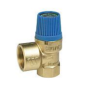 """Мембранний запобіжний клапан SVW для водопостачання 6 бар, 1/2""""*3/4"""", фото 1"""