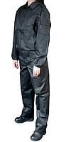 """Костюм охранника """"Супер Люкс"""" черный демисезонный куртка и брюки"""