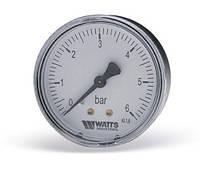 "Манометр аксиальный F+R100 (MAL), 50 мм, 0-10 бар, 1/4"" НР"