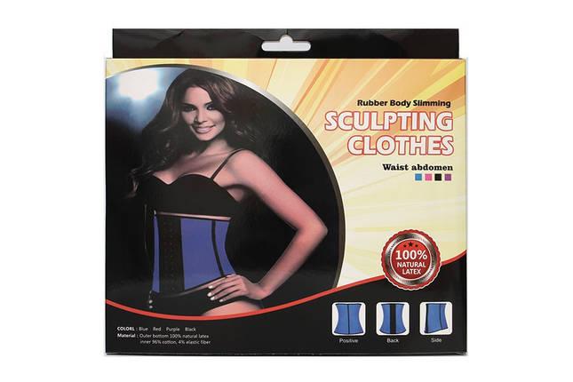 Утягивающий женский корсет Sculpting Clothes Slimming Body | Корсет для похудения | 100% ЛАТЕКС, фото 2