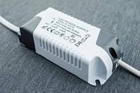 Драйвер в корпусе для светодиодного LED светильника 12Вт