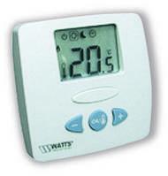 Комнатный термостат WFHT-LCD с ЖК дисплеем, 24 Vac с датчиком пола, фото 1