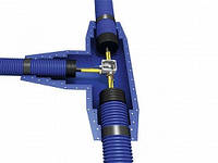 Комплект для Т-образного соединения кабеля в тройнике