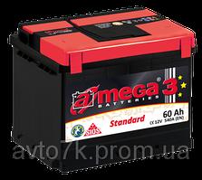 Аккумулятор ваз 2110 2111 2112 a-mega (Амега) 60 Ач