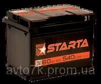 Аккумулятор Ваз 2101 2102 2103 2104 2105 2106 2107 STARTA (Старта) 60 Ач