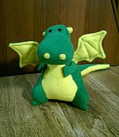 Мягкая игрушка ДРАКОША 24 х 35 см