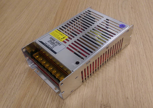 Блок питания перфорированный 12V 16,5А 200W для led ленты