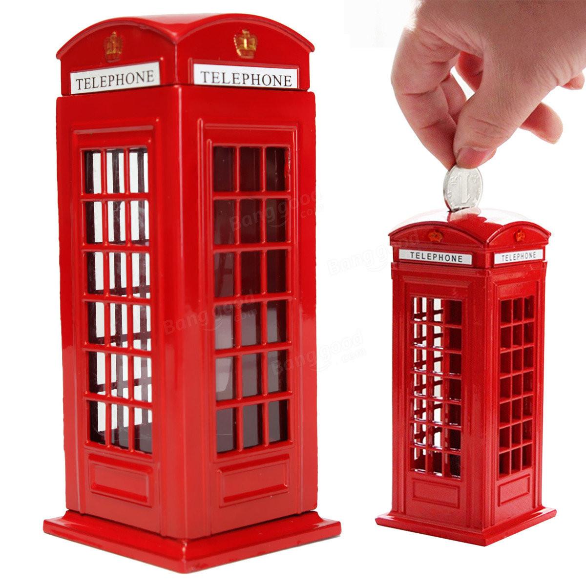 """Копилка """"Лондон телефонная будка"""", фото 1"""