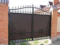 Ворота кованые Динара