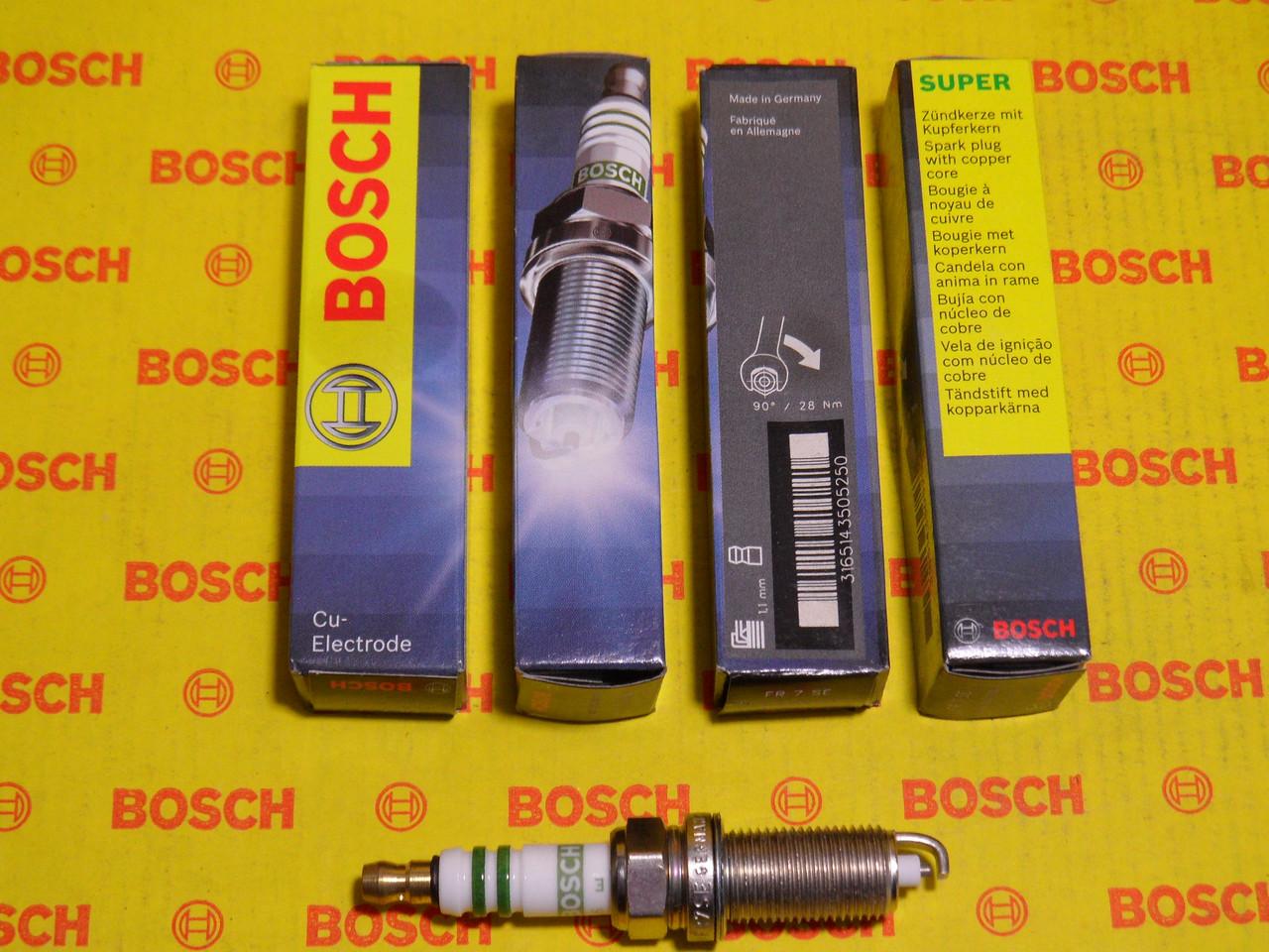 Свеча зажигания BOSCH 0242235758,0 242 235 758,
