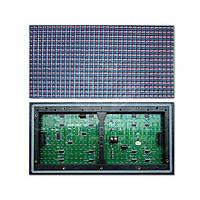 Светодиодный (LED) рекламный дисплей P10-Yellow (320 × 160 мм)