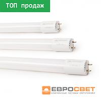 Светодиодная лампа трубчатая L-1200-6400-13 T8 18Вт 6400K G13165-265В  стекло