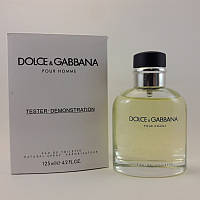 "Туалетная вода в тестере DOLCE&GABBANA ""Pour Homme"" 125 мл мужской"