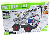 Конструктор металлический  Автокран 3114