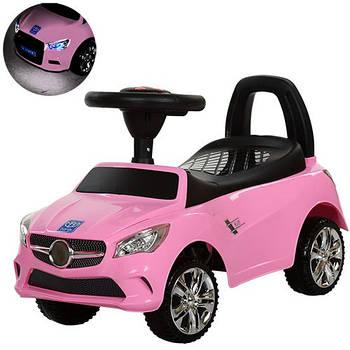 Каталка-толокар для малюків M 3147C-8 Mercedes прогумовані колеса