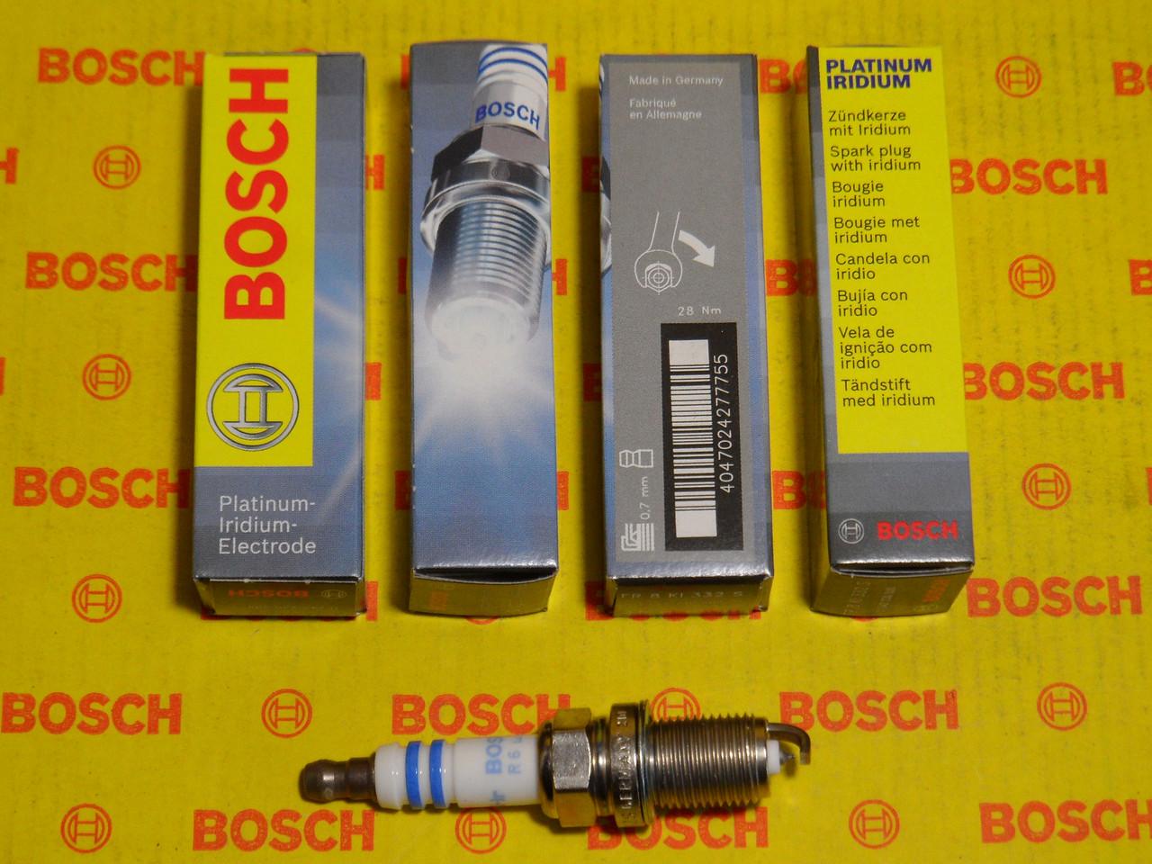 Свеча зажигания BOSCH FR8KI332S PLATINUM IRIDIUM 0242230505,0 242 230 505,
