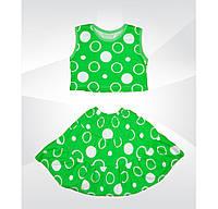 Комплект на девочку Ламбада юбка + топ кулир  01471_SoF
