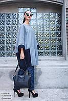 Пальто женское,темно-серое,осень-зима T-DANIE1-1