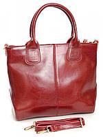 Женская кожаная сумка классика