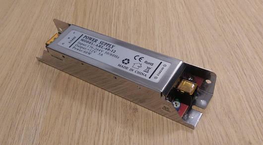 Блок питания компактный 12V 5А 60W для led ленты