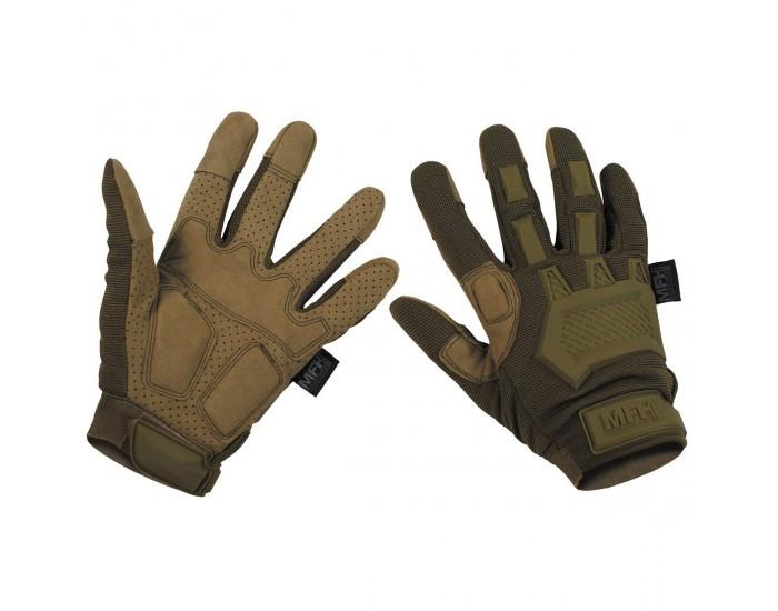 Перчатки тактические с откидными фалангами MFH Action 15843R XXL